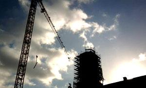 Der Wiederaufbau des Rathauses