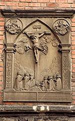 Tombstone Stenzl Freund (1541 y.) Und seine Frau Barbara
