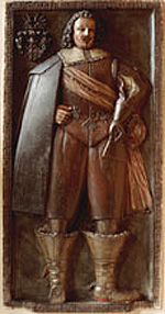 Grabstein von Wilhelm Heinrich von Oberg